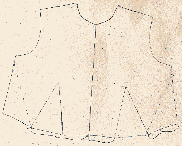 The first bodice example